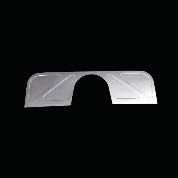 1947-1954 Chevy/GM Truck Bead Rolled Smooth Firewall - Filler Panels