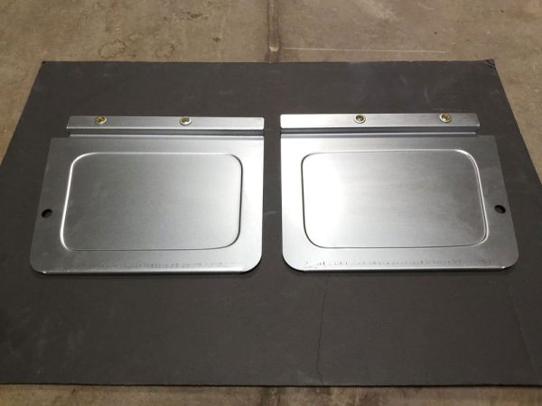 1973-1987 GMC Chevy Squarebody C10 Truck Stone Guards Installed
