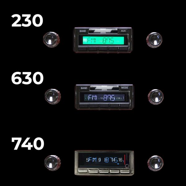 1960-1963 classic truck radio on