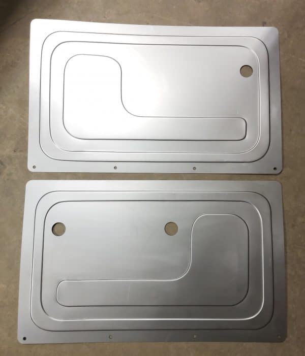 1967-1971 GMC Chevy Truck Suburban Rear Door Panels